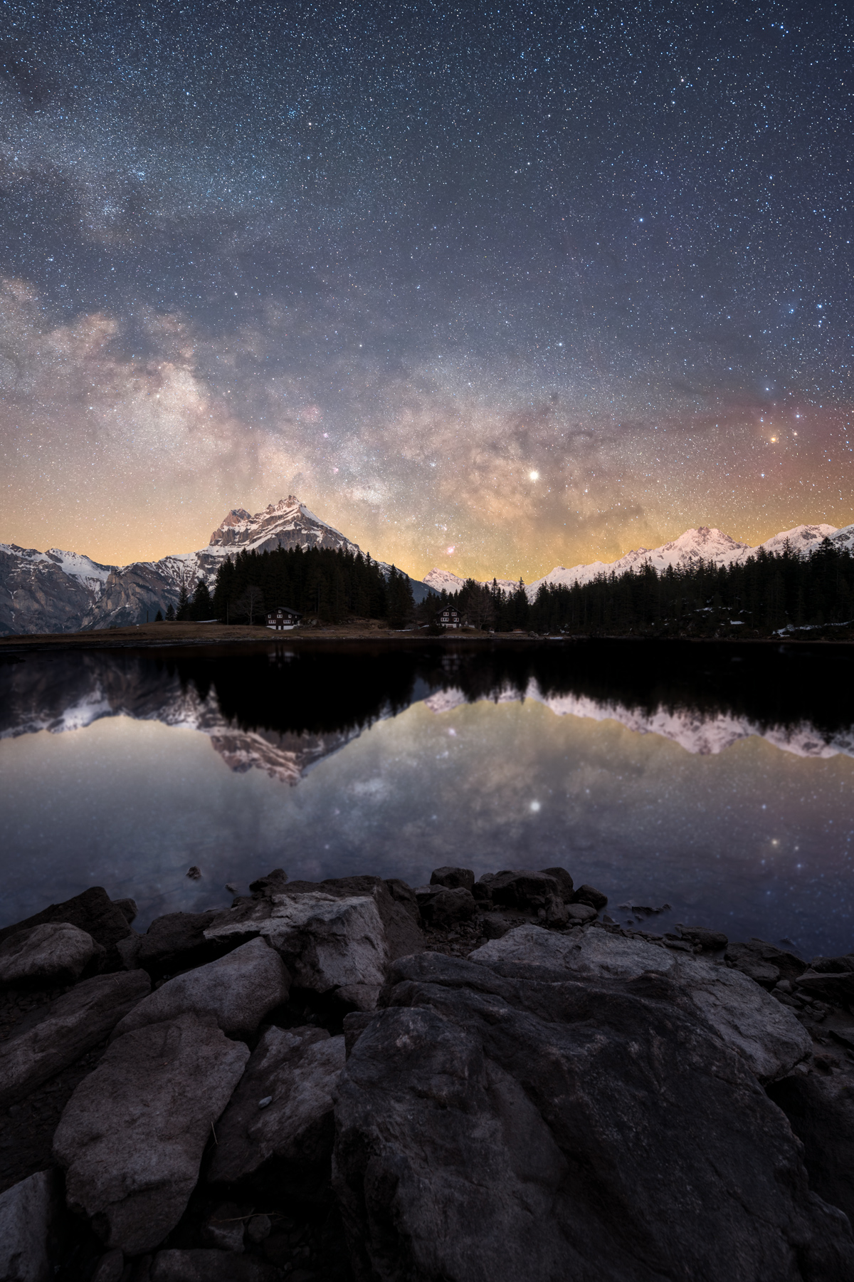 Workshop Milchstrasse Catch the Stars Arnisee