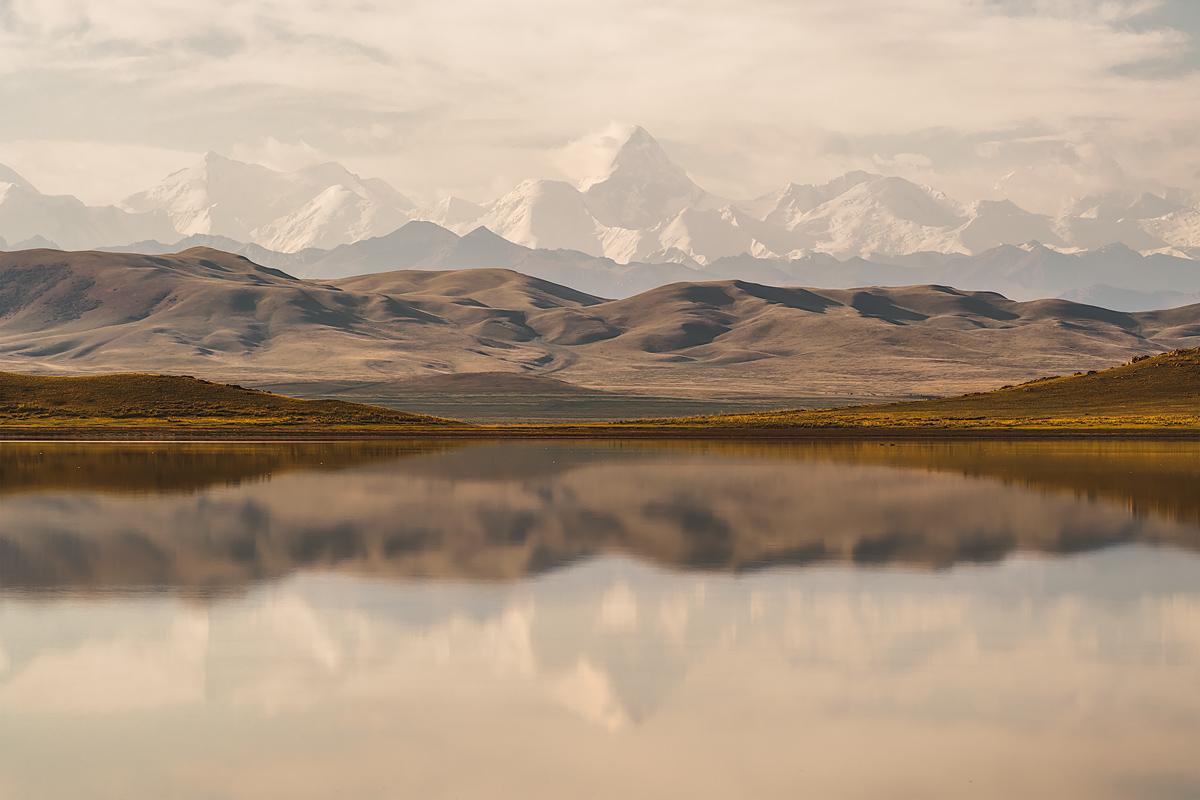 Fotoreise Kasachstan Lake Tuzkol
