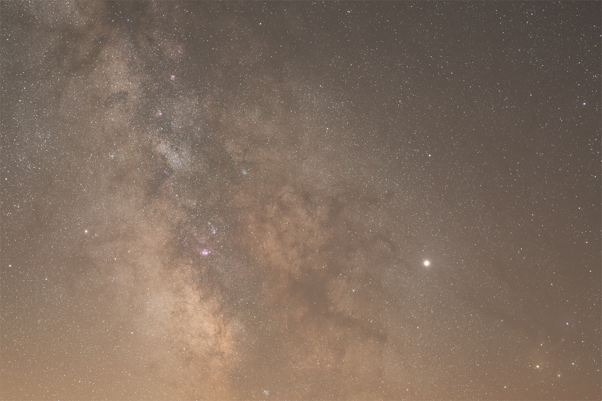 Free Lightroom Preset Milky Way