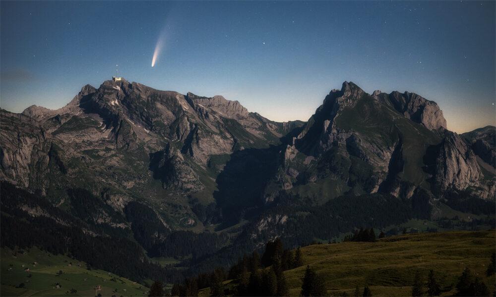 Wie fotografiert man den Kometen Neowise