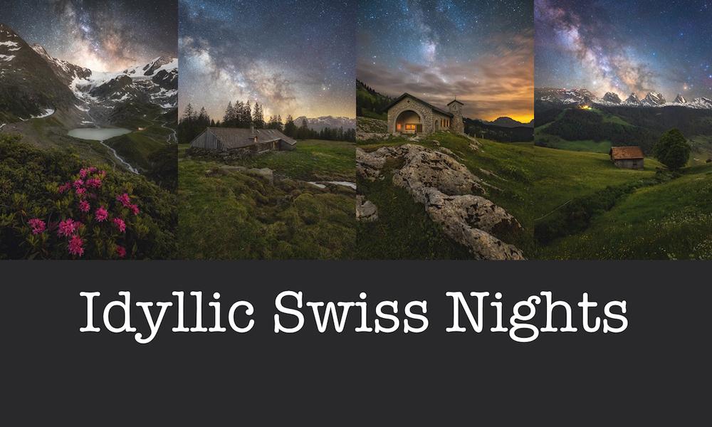NFT Collection Idyllic Swiss Nights